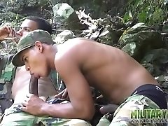 army-boys-scout-for-hard-meat-outdoors